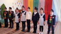 Адыге-Хабльские отряды ЮИД учат дорожной грамоте воспитанников подшефных детских садов